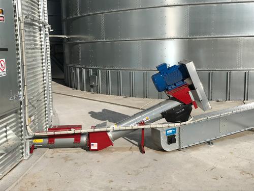 25 grader udtømning Fås fra 40-120 t/t